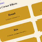 rounded corners Rounded Corners with JQuery and CSS
