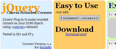 rounded corners 3 Rounded Corners with JQuery and CSS