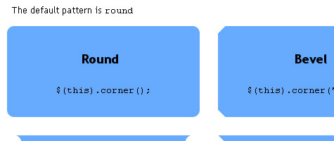 rounded corners 7 Rounded Corners with JQuery and CSS